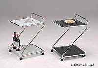 Сервировочный столик  на колесиках W-112