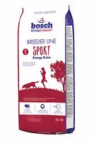 Корм Bosch (Бош) Breeder line Sport для собак с высоким уровнем активности,  20 кг