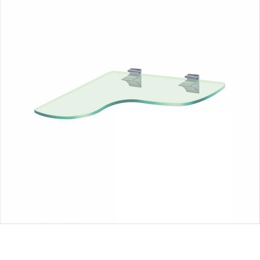 Угловая стеклянная полка PL21 UFC (350x350)