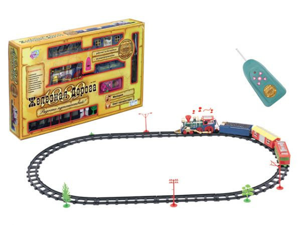 Железная дорога на радиоуправлении #2
