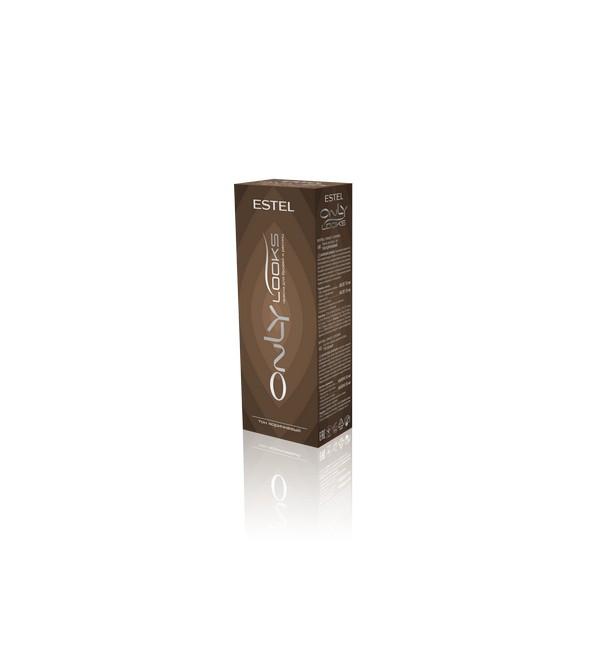 Краска для бровей и ресниц Estel Professional ONLY looks 602 тон коричневый 50мл