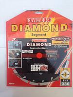 Алмазный отрезной круг DIAMOND 230х22 СИГМЕНТ