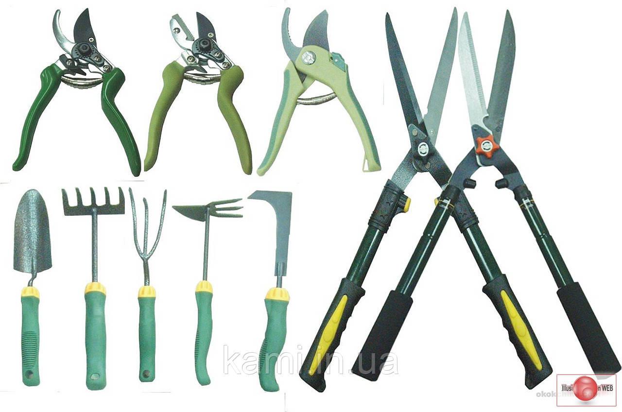Загострення садового інвентаря - секаторы, ножівки, кусторізи, ножі газонокосарки