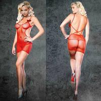 Сексуальное белье, эротическое платье-сетка ROSE