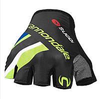 Перчатки без пальцев Cannondale CPC муж. размер L black