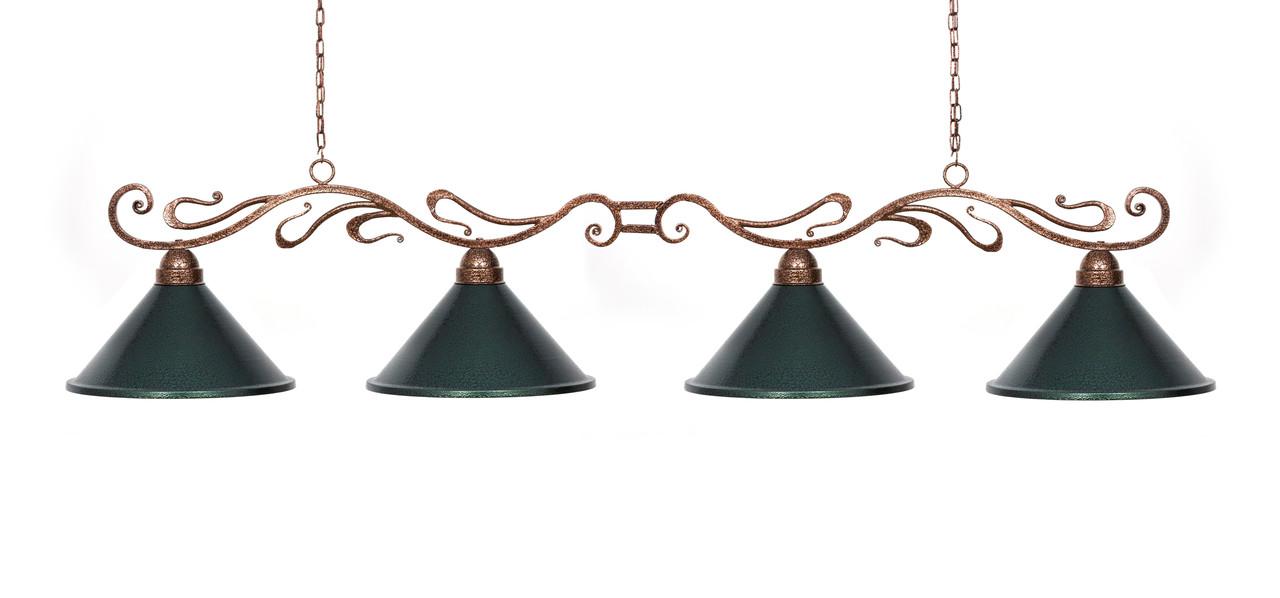 Светильник бильярдный Antic 4 плафона