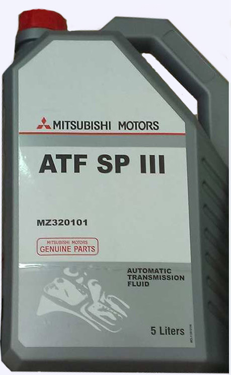 Mitsubishi ATF SPIII 5L MZ320101 Масло трансмиссионное