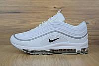 Женские демисезонные кроссовки Nike Air Max 97 белые топ реплика