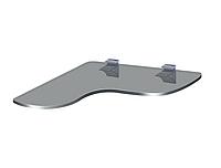 Угловая стеклянная полка PL21 UFG(350x350)