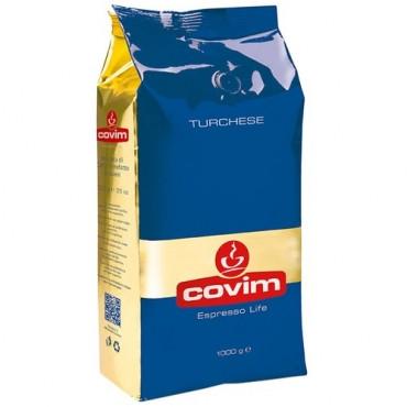 Кофе в зернах Covim Turchese 1кг Италия (Ковим espresso life), 80% Арабики. Италия