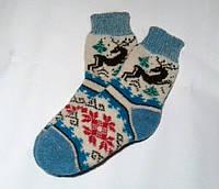 Шерстяные носки с овчины, фото 1