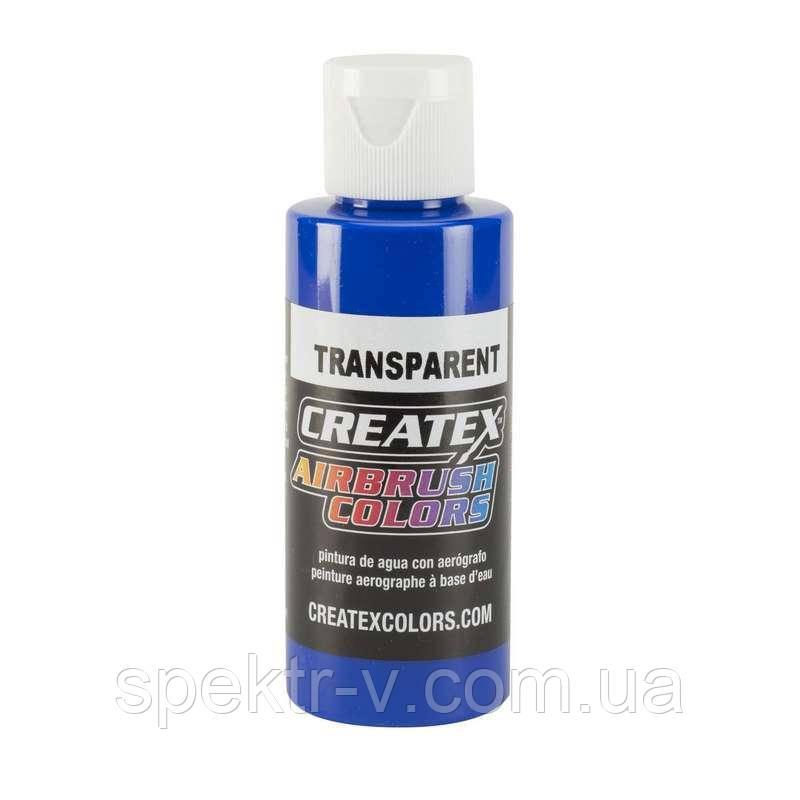 Краска для аэрографии Createx Colors - Transparent 5107 - Transparent Ultramarine Blue, 60 мл