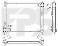 Радиатор охлаждения двигателя Nissan Juke F15 (Koyorad) FP 50 A837-X