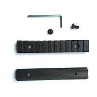 Планка стальная Weaver 105 мм заокругленная, h = 7 мм (1 штука.)