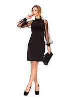 Вечернее черное платье, фото 1