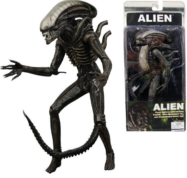 Фигурка чужой классический 1979 года - Alien 1979, Neca