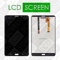 Модуль для планшета Samsung Galaxy Tab A 7.0 T285, черный, дисплей + тачскрин, WWW.LCDSHOP.NET
