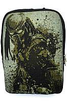 Джинсовый рюкзак ХИЩНИК, фото 1