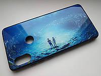 Чехол градиент стеклянный для Xiaomi Redmi Note 5