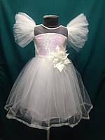 bc0a6fc4c46 Платье бальное фатиновое с пайетками на девочку 3-6 лет Серии