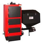 Твердотопливный котел с автоматической подачей топлива Альтеп КТ-2Е-SH 25 кВт