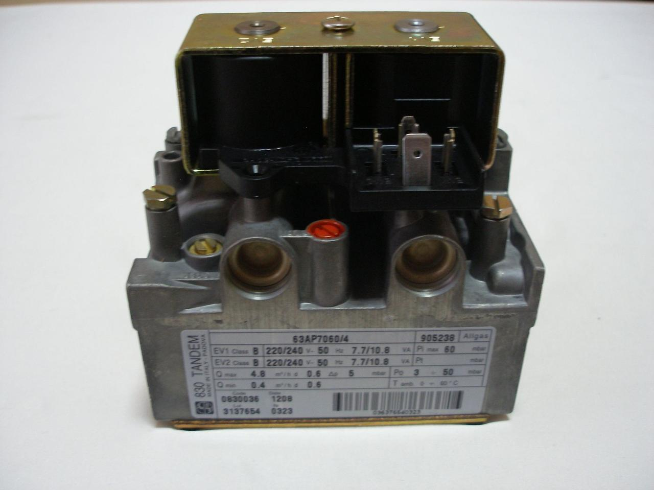 Газовый клапан 830 TANDEM энергонезависимый - .0.830.036