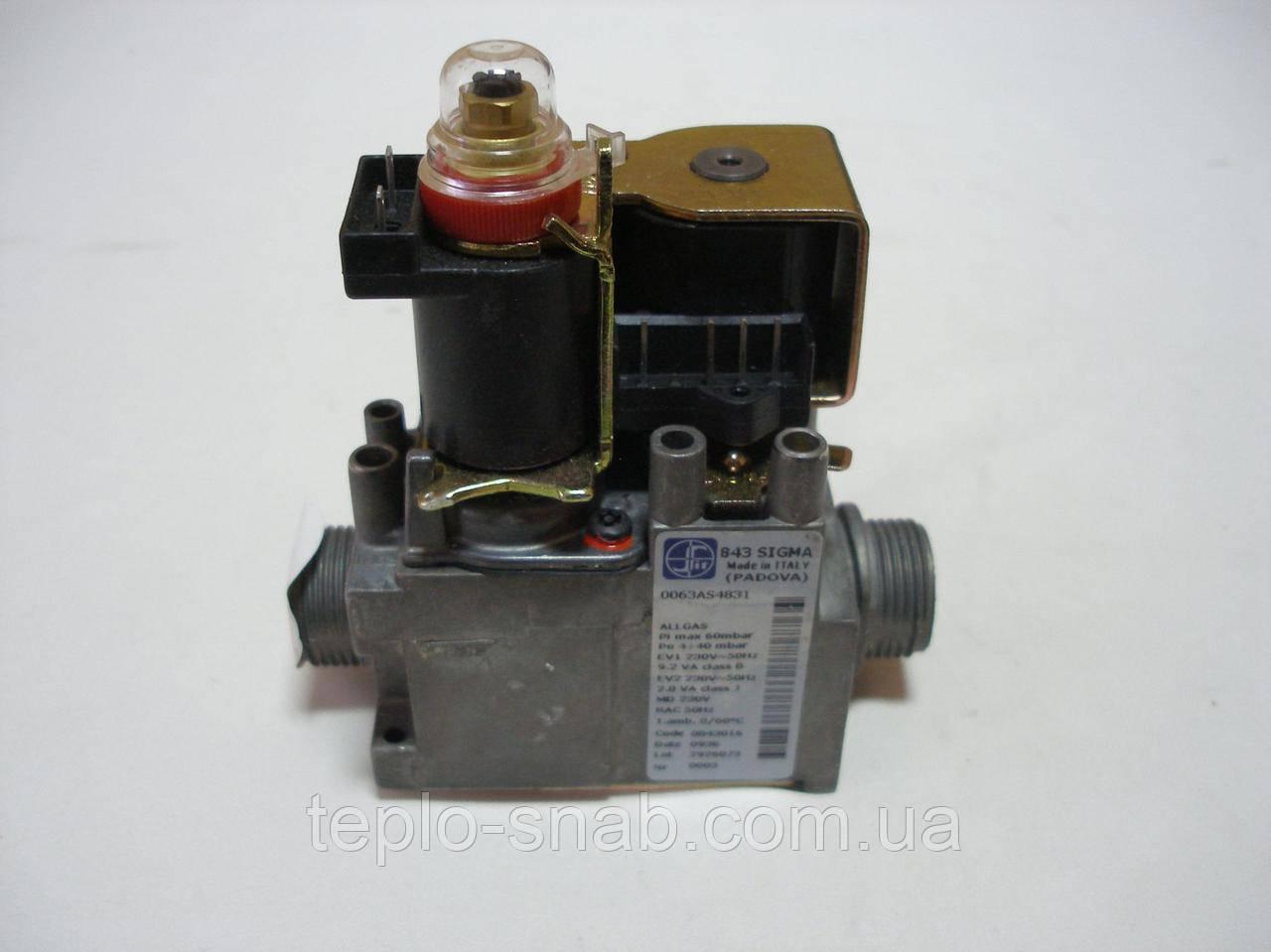 Газовый клапан 843 SIGMA энергонезависимый - . 0.843.016,Proterm KLO 20-30-40-50kw - 20025317