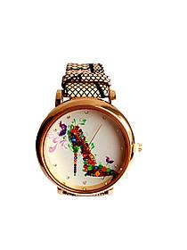Часы женские CFTY Бежевые ТБЖ-0032, КОД: 112025