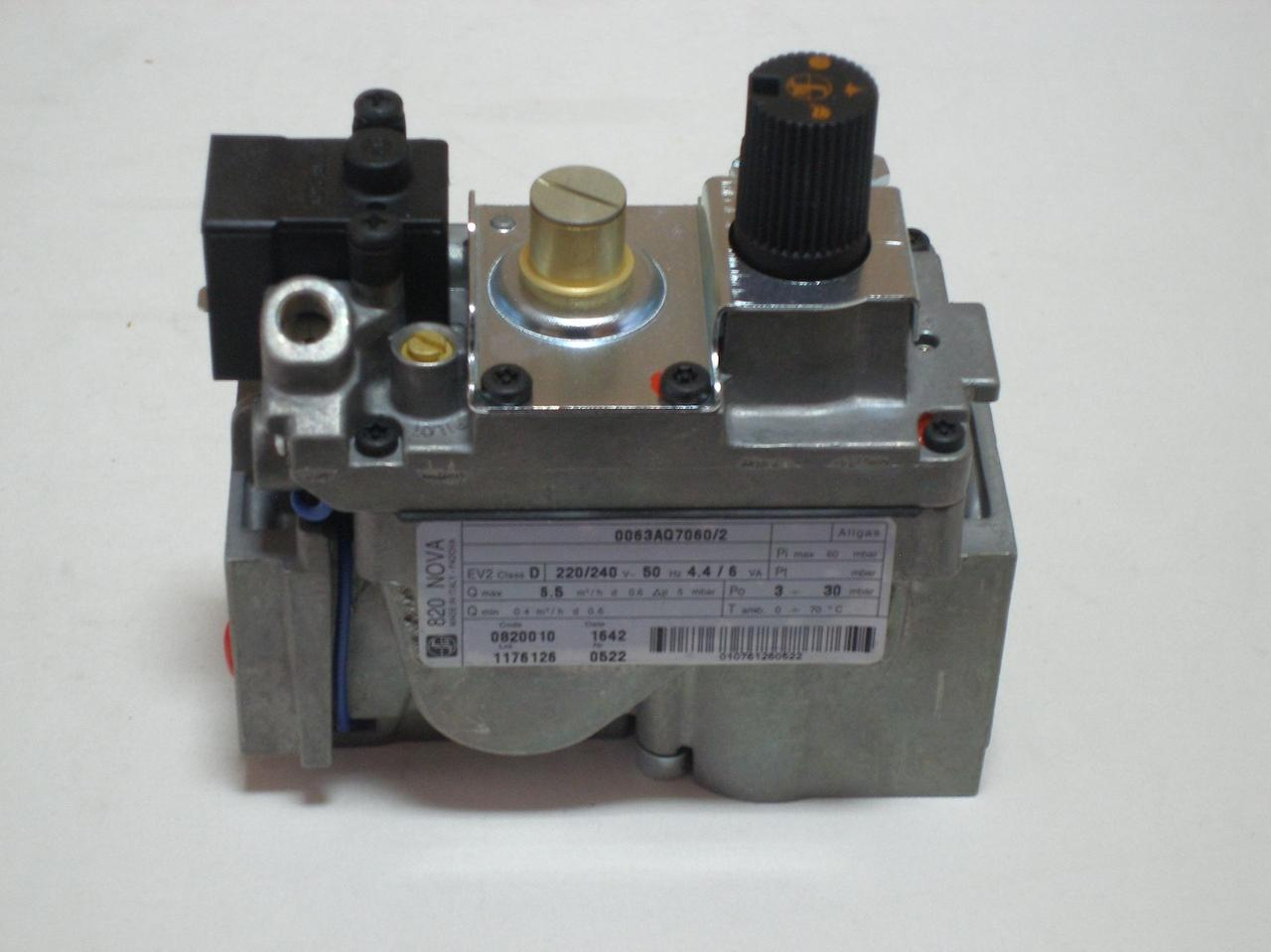 Газовый клапан Sit Nova 820 энергозависимый 0.820.010