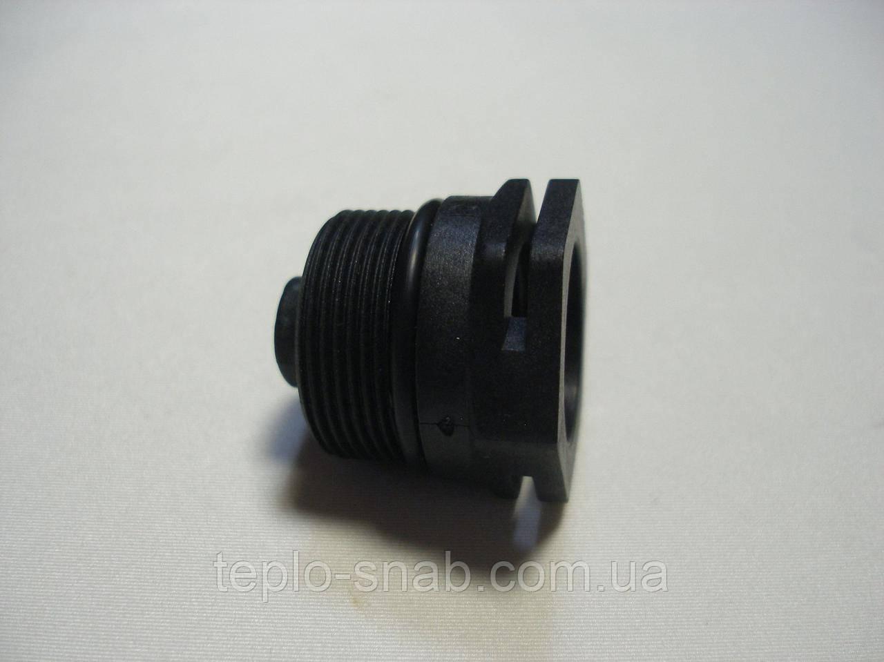 Зажимная гайка (крышка сальник) 3-х ходового клапана Protherm Рысь. 0020118728, Demrad Atron. D003202388