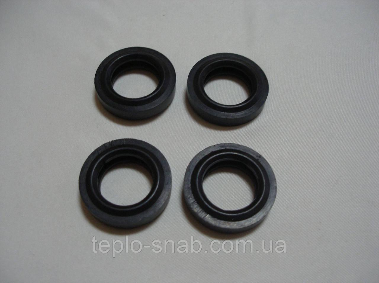 К-т прокладок (4 шт.) вторичного теплообменника ГВС Baxi / Westen, Immergas mini 24 3E, 28 3E. - 5404520