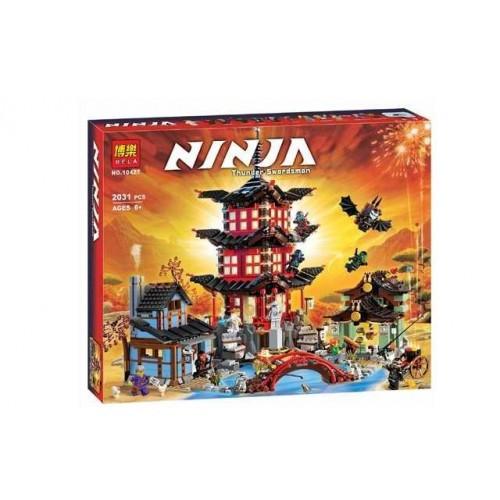 """Конструктор Ninja """"Храм Аэроджитцу"""" 2031 деталь"""