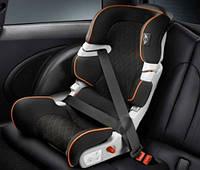 Детское автокресло MINI Junior Car Seat I-II Black/Orange (без опорного столика)
