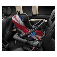 Детское автокресло MINI Baby Car Seat 0+ Union Jack