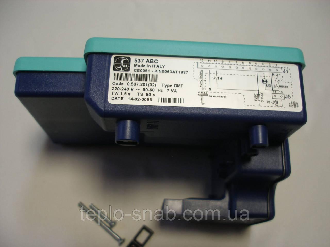 Блок электронного управления 537 ABC Fondital Bali/Nova Florida Altair (только дым. версия). 6WSCEACC00