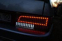 Задние фонари на ВАЗ 2109 -стиль Audi Q5 с трещинкой