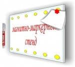 Магнитно-маркерный стенд (12 магнитов)