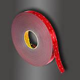 Двусторонняя клейкая лента 3M GPH 060 GF VHB (6 мм х 33 м х 0.6 мм.) Высокотемпературная. 060, фото 2