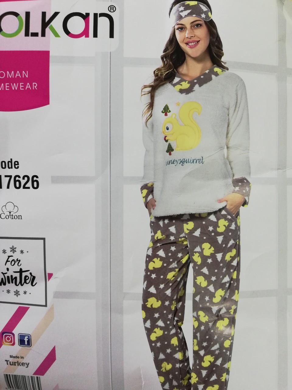 Теплая пижама Polkan