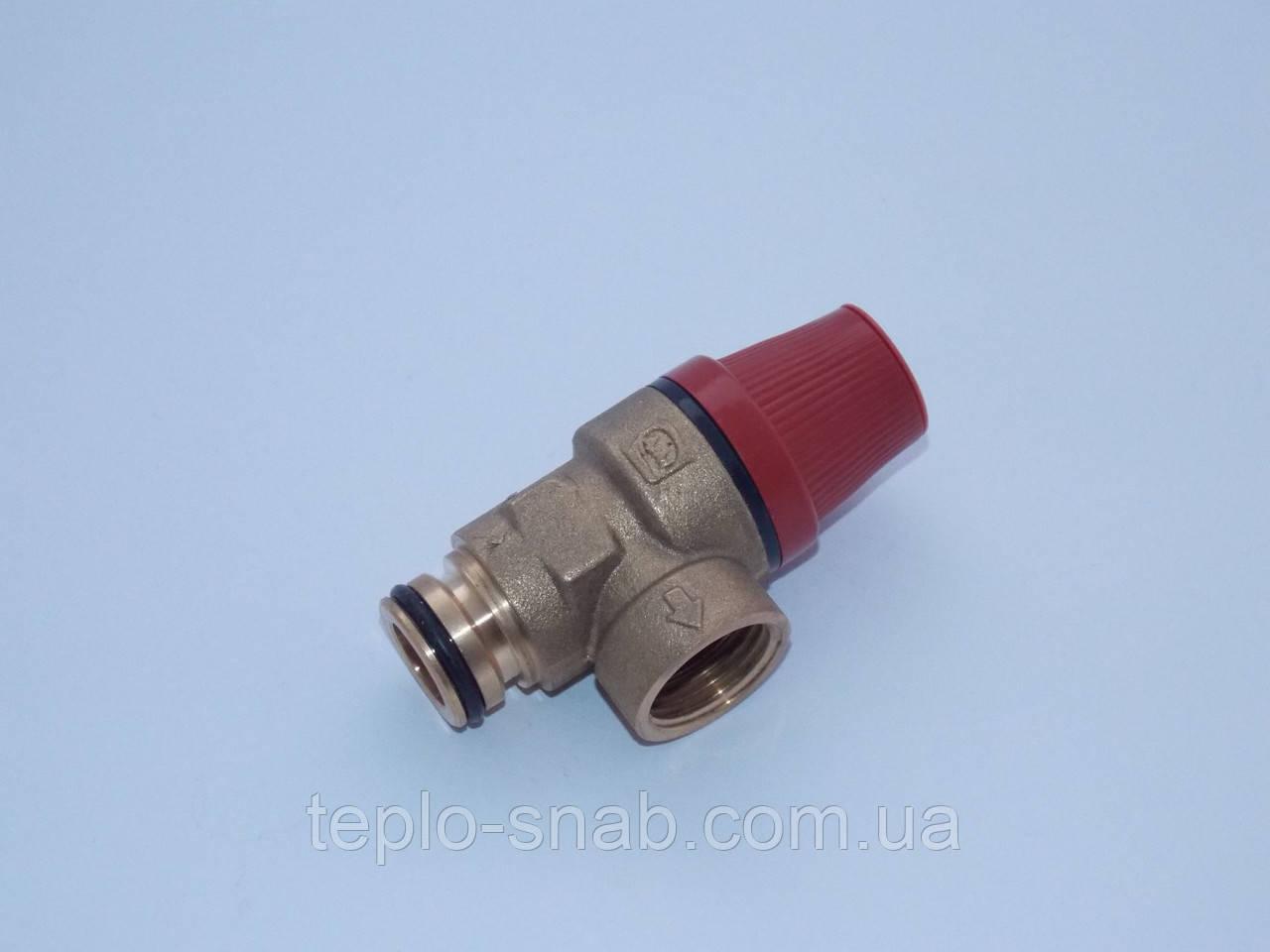 Предохранительный клапан (3 бар.) под скобу