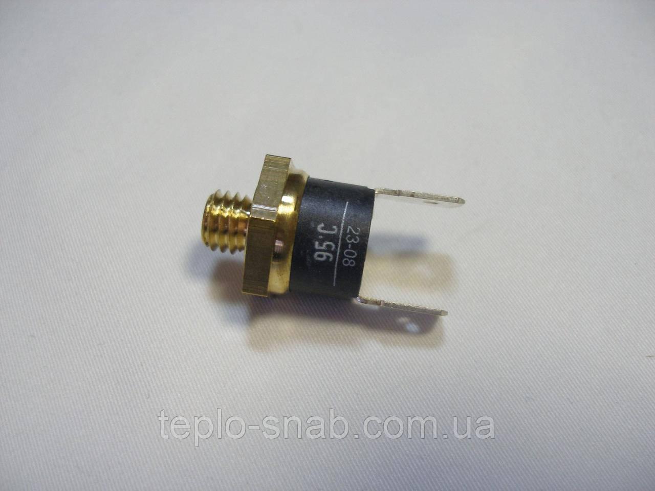 Предельный (предохранительный) термостат по перегреву теплоносителя 95°С. Baxi Slim. 8630390