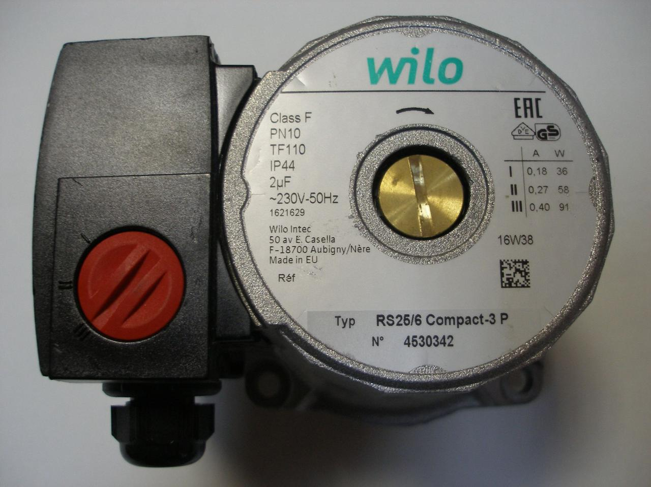 Циркуляционный насос Wilo RS 25 6- 13