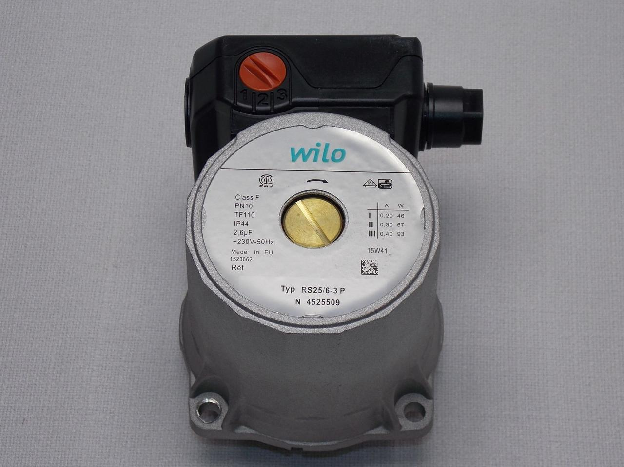 Циркуляционный насос Wilo RS 25 6-3-Р