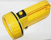 Фонарик на светодиодах жёлтый 884