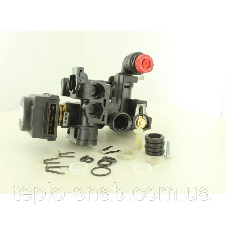 Гидроузел (корпус) 3-х ходового клапана Saunier Duval Temaclassic. S1020800