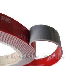 Двусторонняя клейкая лента 3M GPH 060 GF VHB (6 мм х 33 м х 0.6 мм.) Высокотемпературная. 060