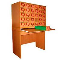 Шкаф картотечный на 30 ящиков (80702)