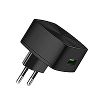 СЗУ Hoco C26 Mighty power QC3.0 18W Charger (3A) Black, фото 1
