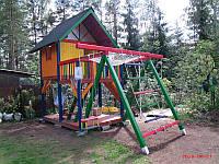 Детский игровой комплекс 004