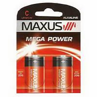 Батарейка Maxus Mega Power 1.5V LR14-C-C2, щелочная 1шт.